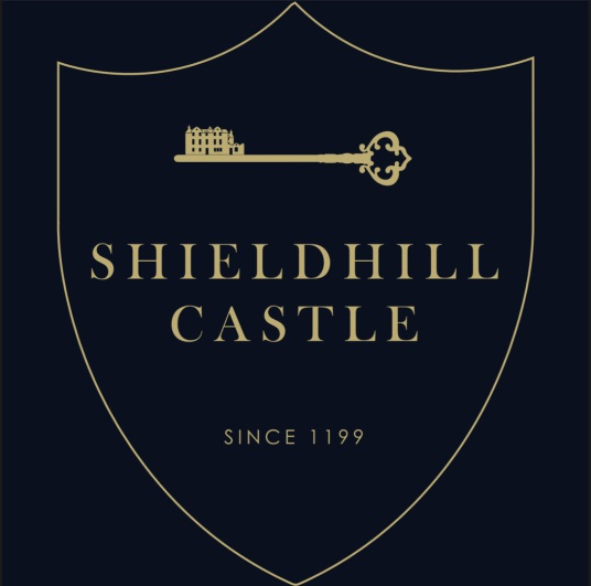 Shieldhill Castle is a fine old castle and mansion, long held by the Chancellor family and now a hotel, near Biggar in Central Scotland.