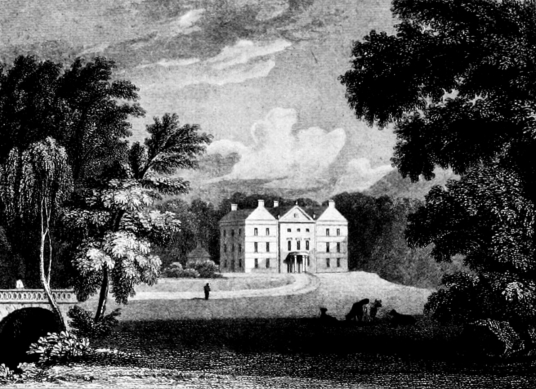 Arbuthnott House is a fine old mansion in a pretty spot. long a property of the Arbuthnott family, near Laurencekirk in Kincardineshire in northeast Scotland.