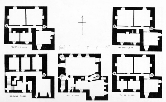 Plans, Castle Kennedy is a large ruinous old tower house of the Kennedys and then the Dalrymples, set in beautiful expansive gardens in the policies of Lochinch Castle, near Stranraer in Galloway in southwest Scotland.