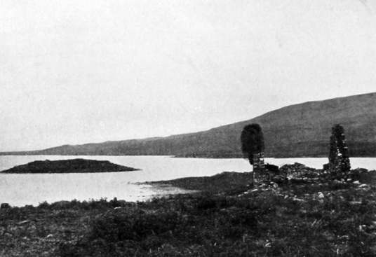 Finlaggan was a centre power of the mighty MacDonald Lord of the Isles, but little remains except some walls on two islands in a pretty spot in Loch Finlaggan on Islay in Argyll on the western seaboard of Scotland.