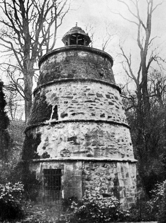 Doocot (dovecote), Mertoun House is a fine mansion with lovely gardens, held by the Scotts and then the Dukes of Sutherland, near Kelso in the Borders in southeast Scotland.