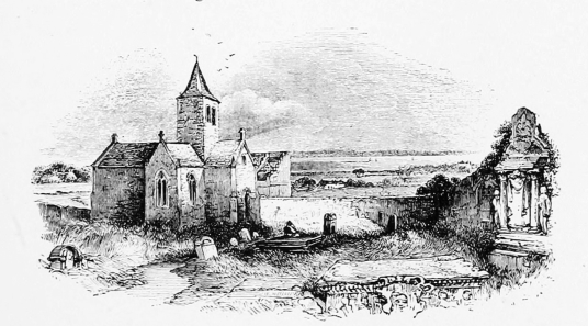 Tranent Parish Church, near Tranent Tower is a ruinous old tower house of the Seton family and then the Valance family, not far from the atmospheric parish church in a fine wooded setting with many old carved tombstones and a large doocot, at Tranent in E