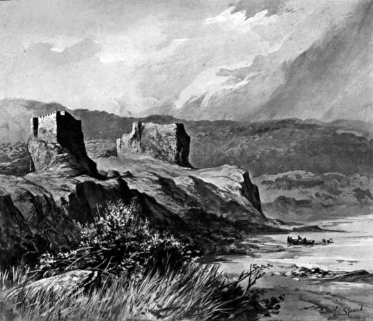 Brochel Castle, Raasay, held by the MacLeods