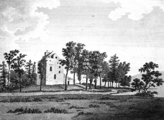 Closeburn Castle, held by the Kirkpatricks
