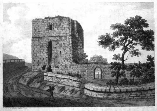Cocksburnpath Tower or Castle