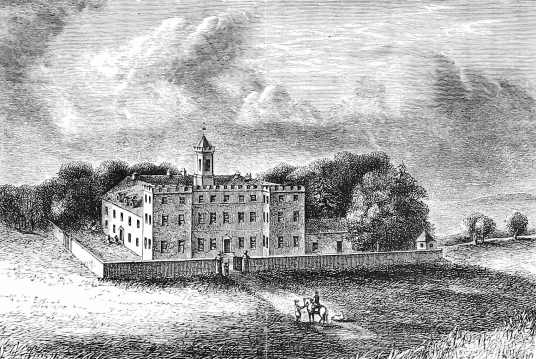 Older house, Culloden House, an attractive symmetrical mansion, seat of Forbes family and mostly dating from the end of the 18th century. in fine grounds and now used as a hotel, near the site of the Battle of Culloden, near Inverness in the Highlands of