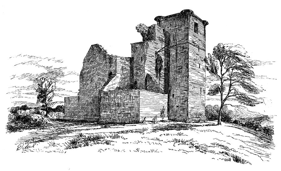 Crookston Castle The Castles Of Scotland Coventry